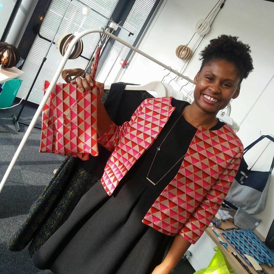 Cynthia Sither créatrice de mode